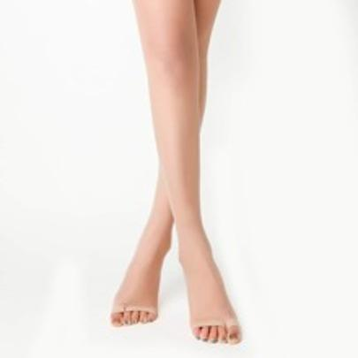 Womens Sheer Footed  Tights by Romwe