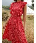 Summer Sleeveless Beach Dress/Midi Dress