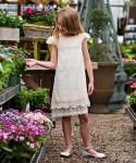 Toddler Vintage Dress With Ruffles